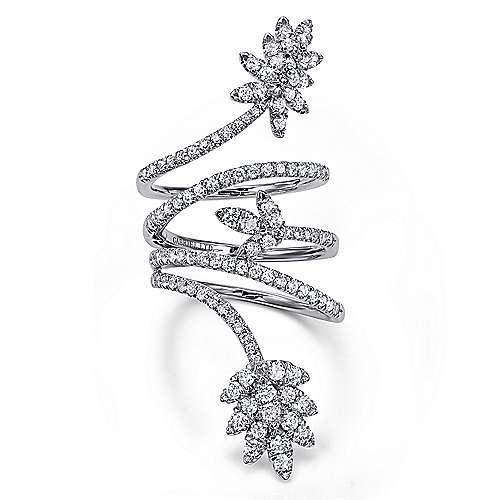 Gabriel - 18k White Gold Amavida Fashion Statement Ladies' Ring