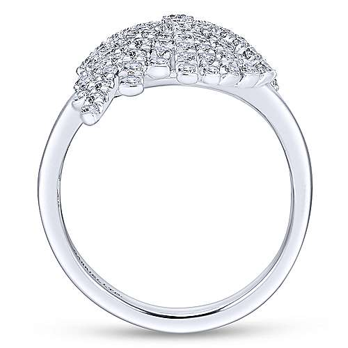 18k White Gold Art Moderne Fashion Ladies