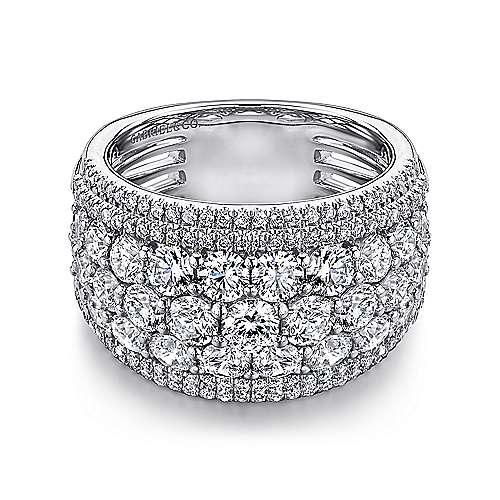 18k White Gold Diamond Fancy