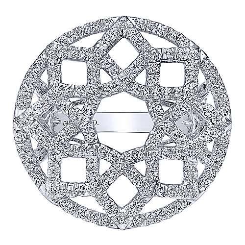 Gabriel - 18k White Gold Allure Fashion Ladies' Ring
