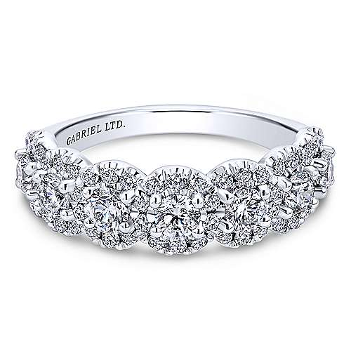 Gabriel - 18k White Gold Allure Fashion Ladies' Ring