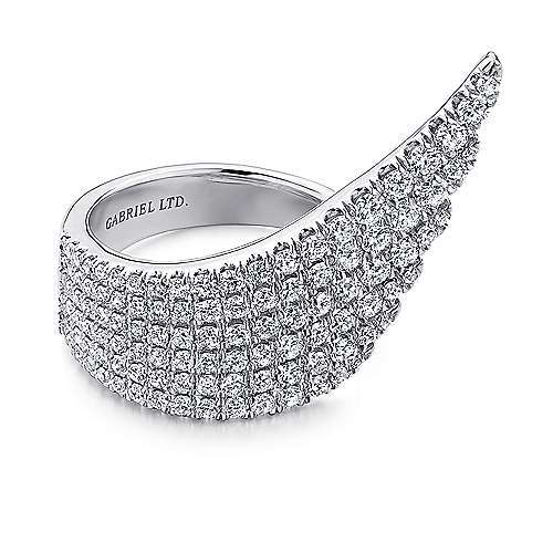 18k White Gold Diamond Fashion