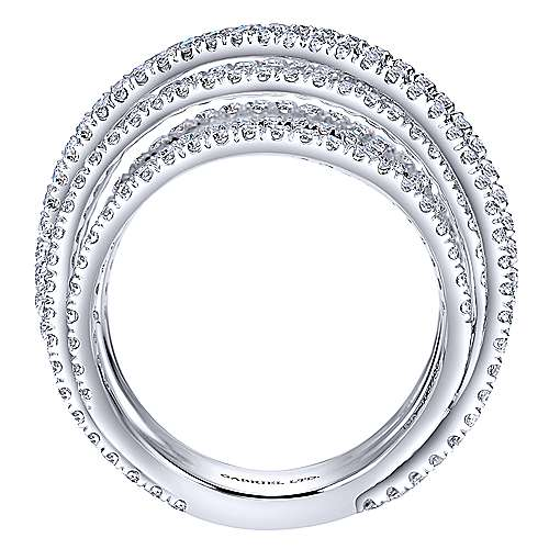 18k White Gold Diamond Fashion Ladies