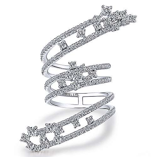 18k White Gold Amavida Fashion Statement