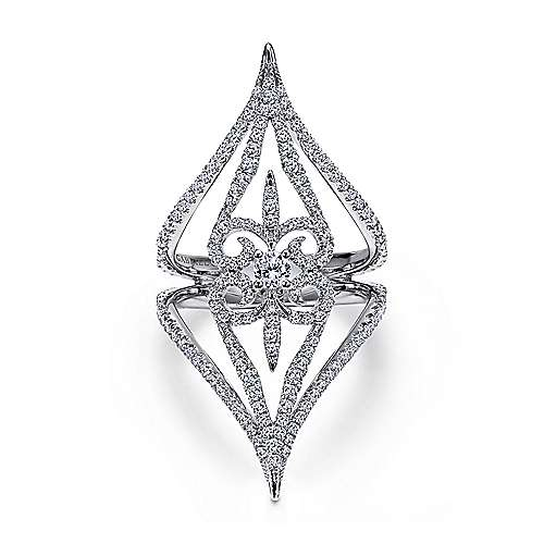 18k White Gold Kaslique Statement