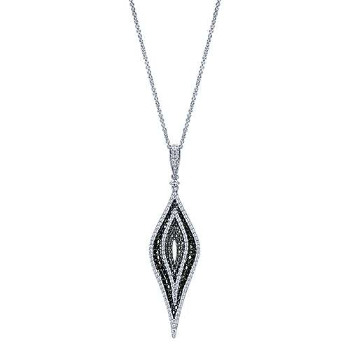 18k White Gold Kaslique Fashion Necklace