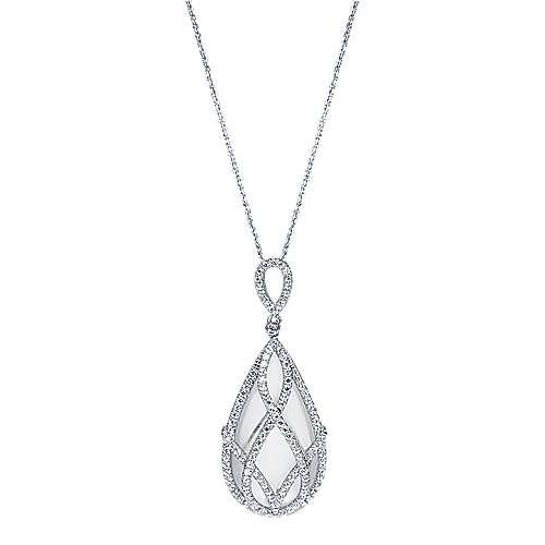 Gabriel - 18k White Gold Lusso Color Fashion Necklace