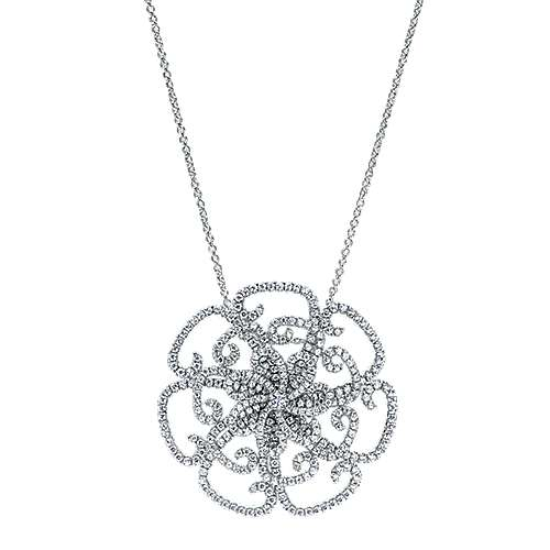 Gabriel - 18k White Gold Lusso Fashion Necklace