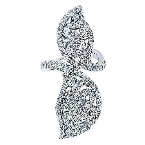 18k White Gold Mediterranean Statement Ladies