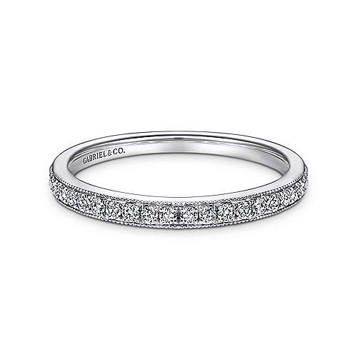 Vintage 18k White Gold  Straight