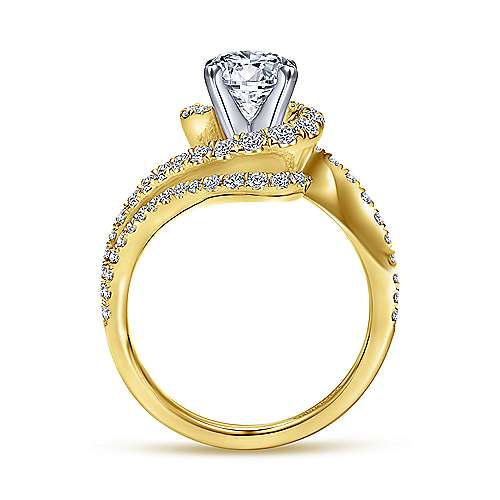 Yellow Gold Engagement Rings Gabriel & Co