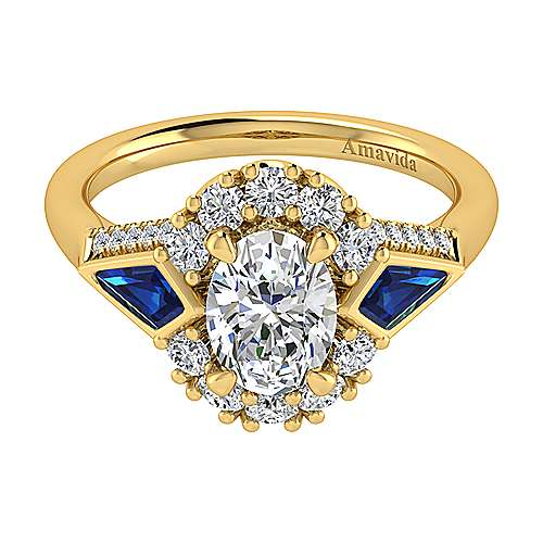 18k Yellow Gold Contemporary