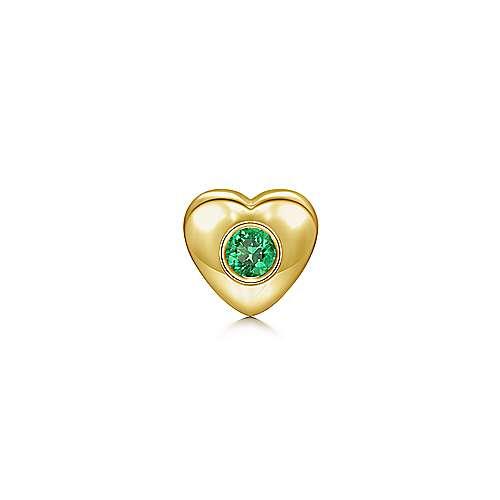 Gabriel - 18k Yellow Gold Treasure Chests Locket Charm Pendant