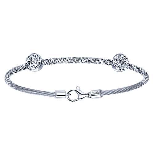 925 Silver/stainless Steel Steel My Heart