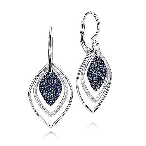 Gabriel - 925 Silver Souviens Drop Earrings