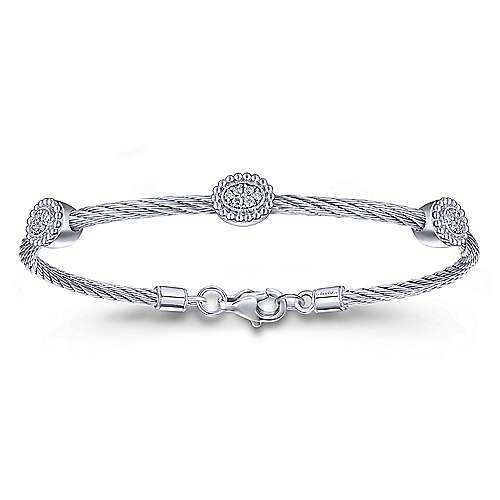 jewelry david yurman cable solitaire dy ring platinum engagement classic lyst cushion rings in