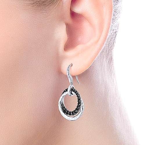 925 Silver BS Earring angle 2