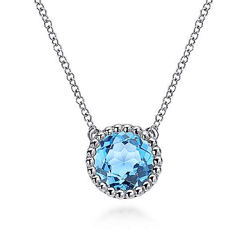 Gabriel - 925 Silver Bombay Fashion Necklace