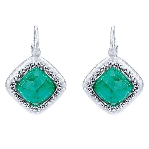 Gabriel - 925 Silver Bombay Drop Earrings