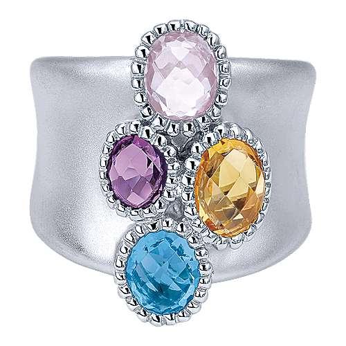 Gabriel - 925 Silver Bombay Fashion Ladies' Ring