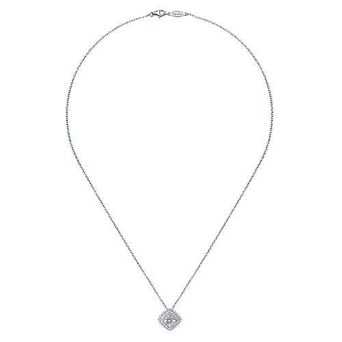 925 Silver Bombay Fashion Necklace angle 2