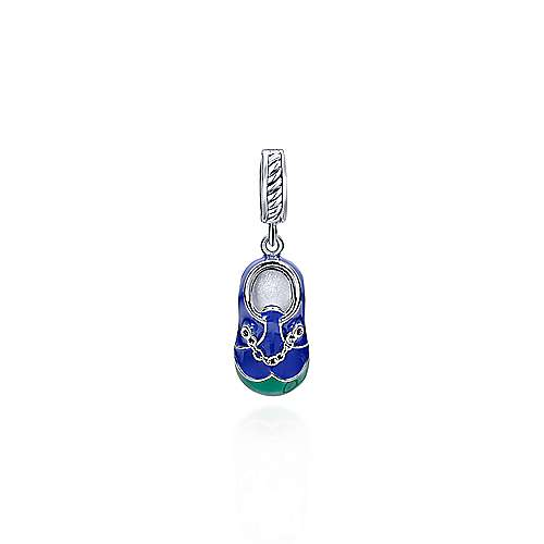925 Silver Bootee Charm Pendant