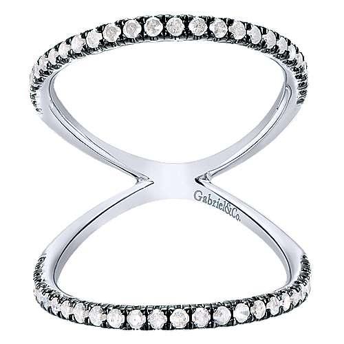Gabriel - 925 Silver Shadow Play Fashion Ladies' Ring