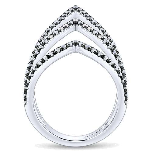 925 Silver Candlelight Diamond Fashion Ladies