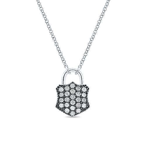 925 Silver Candlelight Diamond Fashion