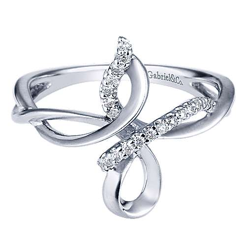 Gabriel - 925 Silver Contemporary Fashion Ladies' Ring