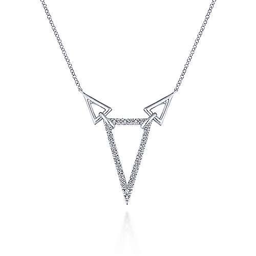 925 Silver Contemporary Fashion Necklace