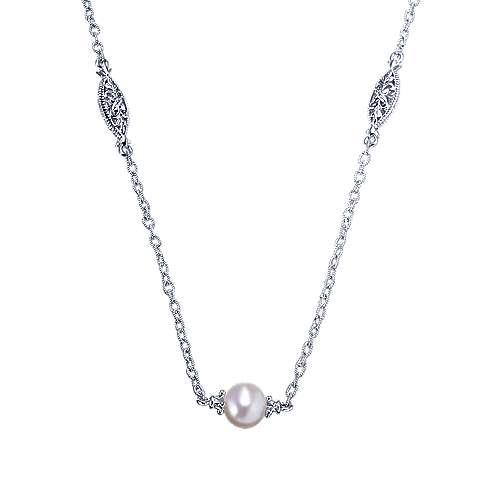Gabriel - 925 Silver Infinite Gems Diamond By The Yard Necklace
