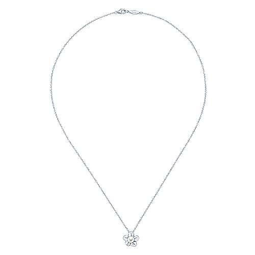 925 Silver Cultured Pearl Fashion Necklace angle 2