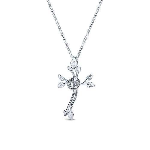 925 Silver Faith Cross