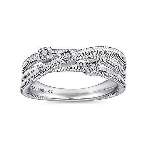 925 Silver Dia Ring            angle 4