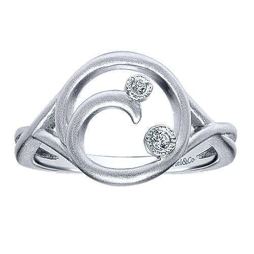 925 Silver Diamond Fashion Ladies