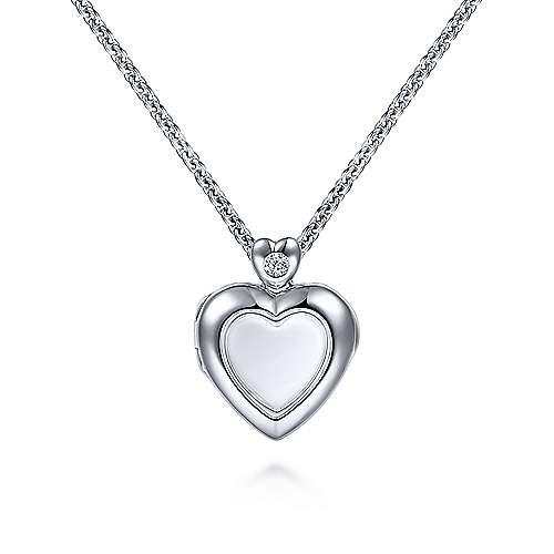 Gabriel - 925 Silver Treasure Chests Locket Necklace