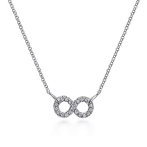 Gabriel - 925 Silver Eternal Love Fashion Necklace
