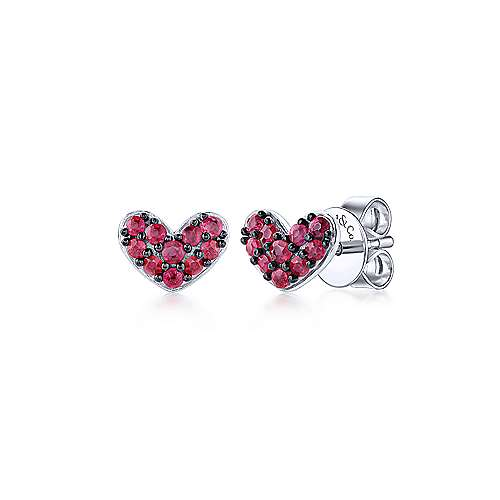 925 Silver Eternal Love Stud Earrings