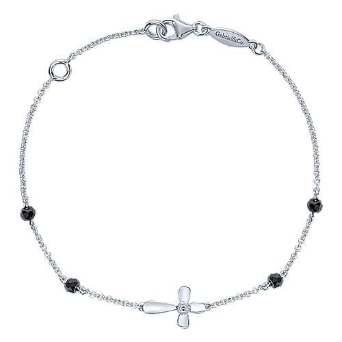 Gabriel - 925 Silver Faith Cross Bracelet