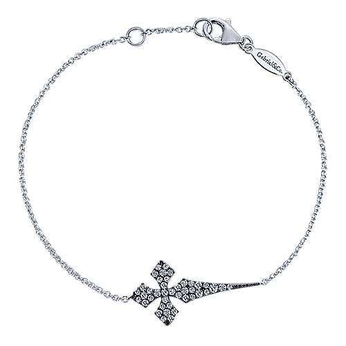 Gabriel - 925 Silver Faith Cross Bracelet