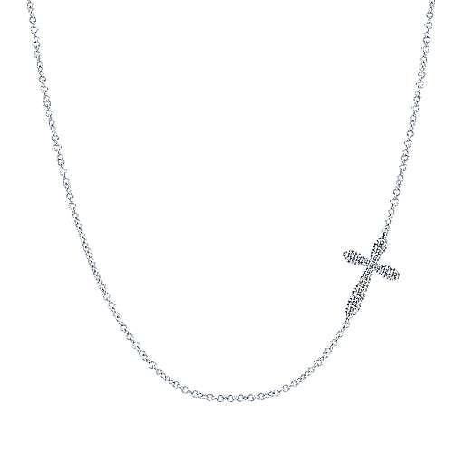 925 Silver Faith Cross Necklace