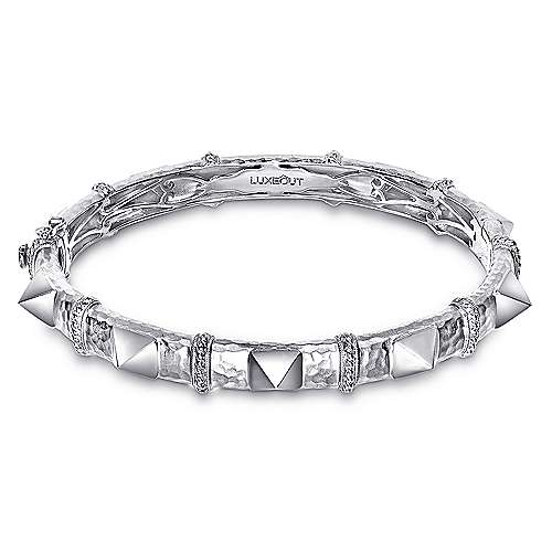 Gabriel - 925 Silver Fierce Bangle
