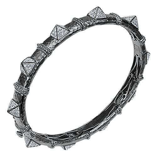 925 Silver Fierce Bangle