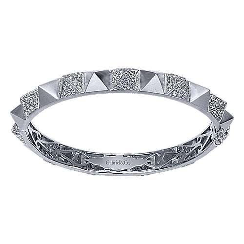 Gabriel - 925 Silver Fierce Bangle