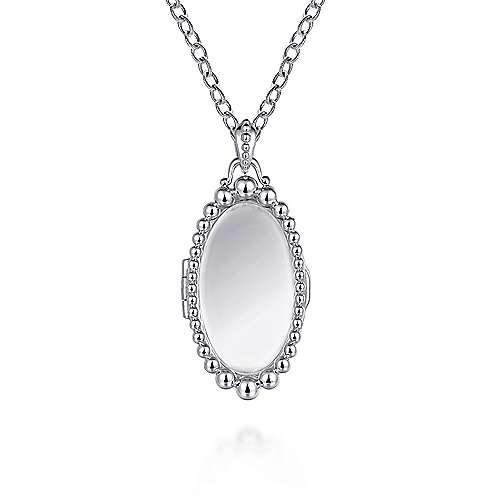 Gabriel - 925 Silver Treasure Chests Fashion Necklace