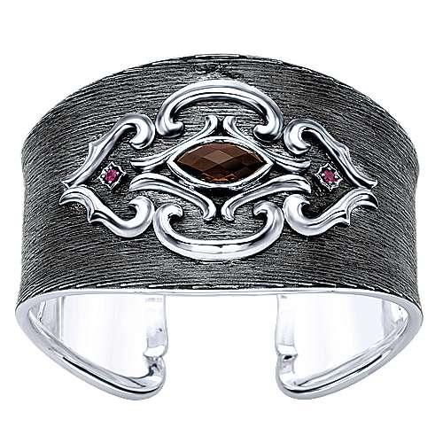 Gabriel - 925 Silver Goddess Cuff Bangle