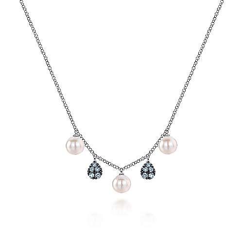 925 Silver Grace Fashion Necklace angle 1