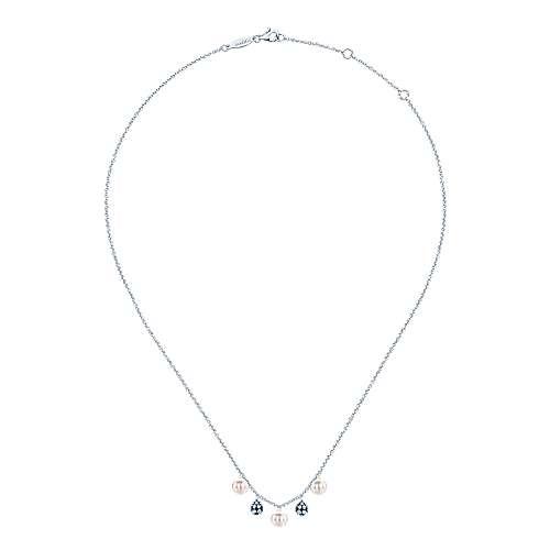 925 Silver Grace Fashion Necklace angle 2