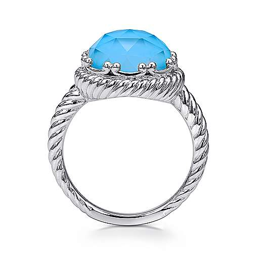 925 Silver Hampton Fashion Ladies' Ring angle 2